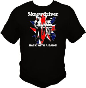 Skrewdriver - Back with a Bang - T-Shirt