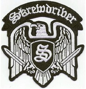 Skrewdriver Eagle Logo - Patch