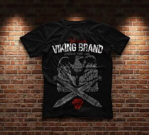 "Viking Brand ""The Eagle"" T-Shirt Black"
