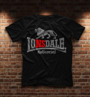 Lonsdale Antisocial - T-Shirt - Black