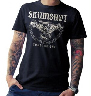 "Skumshot ""Trust no one"" - Shirt - Black"