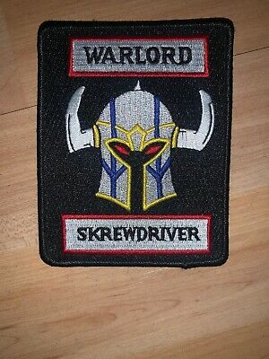 Skrewdriver Warlord Patch
