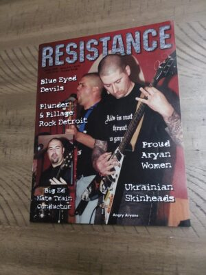 Resistance Magazine - Front