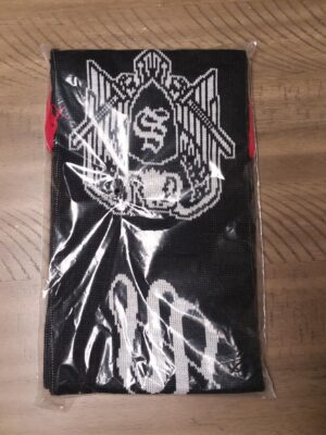 Skrewdriver Scarf - Black, White, & Red