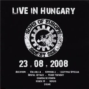 Sons of Europe – Side by Side - Live in Hungary - Compact Disc