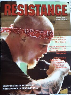 Resistance Magazine # 27