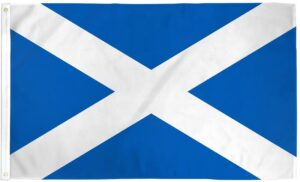 Scotland Cross - Flag - 3 X 5 ft