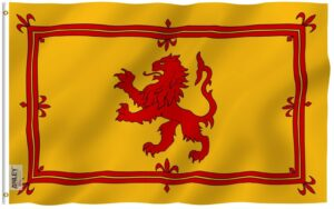 Scotland Royal Rampant Lion - Flag - 3 X 5 ft