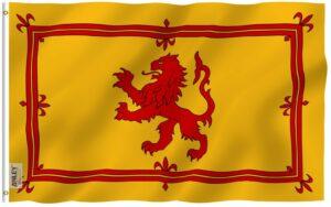 Scotland Royal Rampant Lion - Flag - 3 X 5 ft