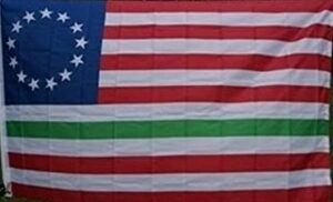 George Washington Irish - American - Flag - 3 X 5 ft