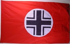 German WWII Balkenkreuz - Flag - 3 X 5 ft