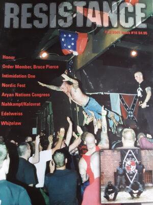 Resistance Magazine # 16