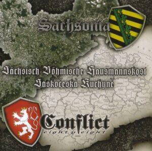 Sachsonia & Conflict 88 - Sächsisch-Böhmische Hausmannskost - Compact Disc