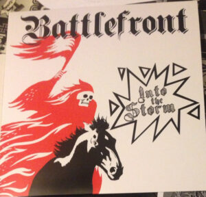 Battlefront - Into The Storm - Vinyl LP Black
