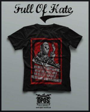 Full of hate - T-Shirt - Black