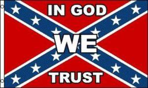 In God We Trust Rebel - Flag - 3 X 5 ft