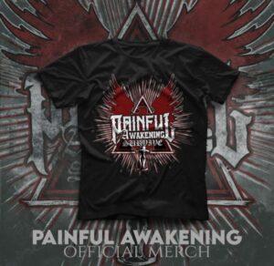 Painful Awakening - Survive - T Shirt - Black