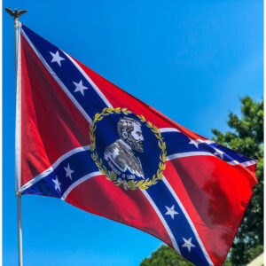 Robert E Lee Rebel Flag - 3x5 ft