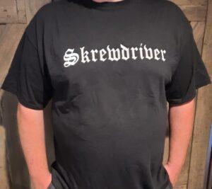 Skrewdriver - Eagle - T-Shirt Black