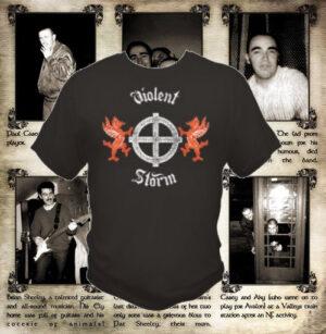 Violent Storm - Band T-Shirt Black