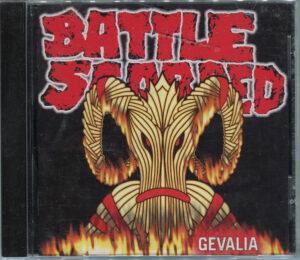 Battle Scarred – Gevalia - Compact Disc
