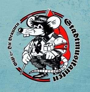 Gigi & Die Braunen Stadtmusikanten - Rattenfänger - Digipak Disc
