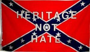 Rebel Heritage Not Hate Flag - 3x5 ft