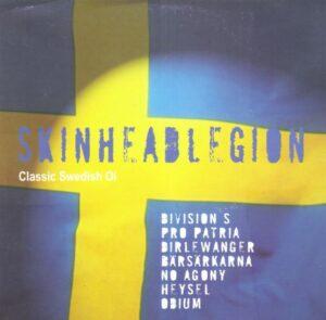 Skinhead Legion - Classic Swedish Oi! - Compact Disc