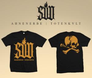Sturm und Drang - Ahnenerbe - Shirt Black and Gold