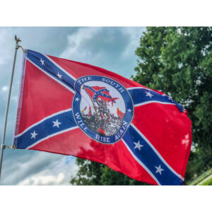 The South will rise again Flag - 3x5 ft