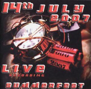 VA - 14th July 2007 – Summerfest 2007 - Live Recording - Compact Disc
