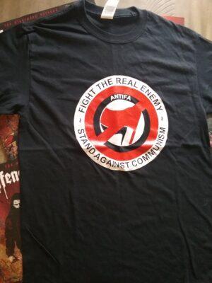 Anti-Antifa - Fight the real Enemy - T-Shirt Black