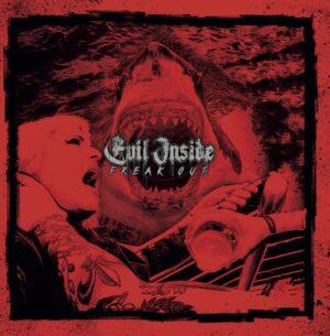 Evil Inside - Freak Out - LP Vinyl Black