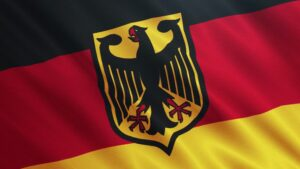 German with Eagle Flag - 3x5 ft