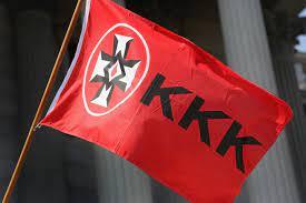 Ku Klux Klan Original Blood Drop Flag - 3x5 ft