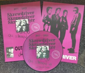 Skrewdriver – All skrewed up + Chiswick Singles - 44 Years Edition – Picture LP Vinyl