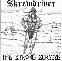 Skrewdriver - The Strong Survive - Compact Disc
