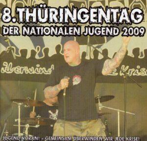 8. Thuringentag Der Nationalen Jugend 2009 - Live in Arnstadt - Compact Disc