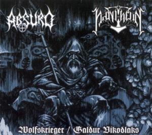 Absurd & Pantheon - Wolfskrieger - Galdur Vikodlaks - Digipak Disc