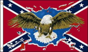 Confederate Eagle Flag - 3x5 ft
