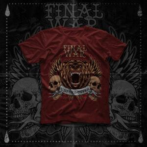 Final War - Unforgotten - T-Shirt -Brick Red