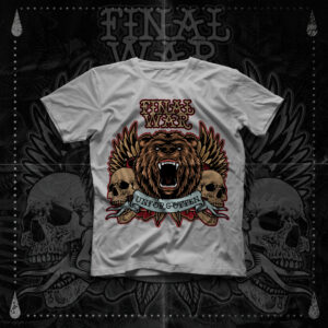 Final War - Unforgotten - T-Shirt -White