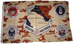 Operation Iraqi Freedom Flag- 3x5 ft