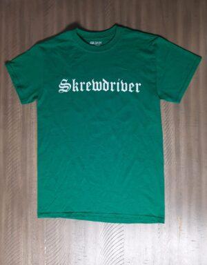 Skrewdriver - Eagle - T-Shirt Green