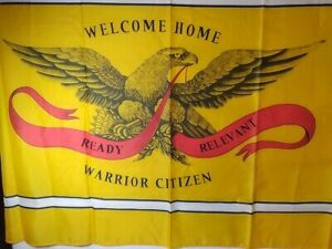 Welcome Home Warrior Citzen Flag - 3x5 ft