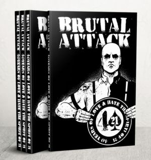 Brutal Attack - 40 Years of Love & Hate - DVD Box
