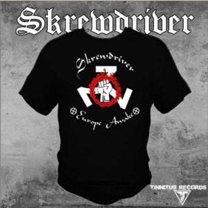 Skrewdriver - Europe Awake - Shirt Black