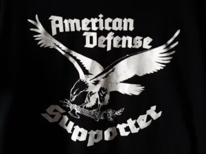 American Defense - Supporter - Shirt Black