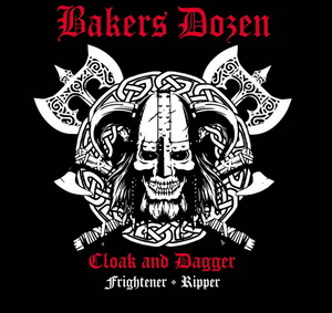 Bakers Dozen - Cloak and Dagger - Digipak Disc