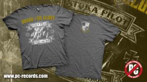 Bound for Glory - Stuka Pilot - T-Shirt -Gray